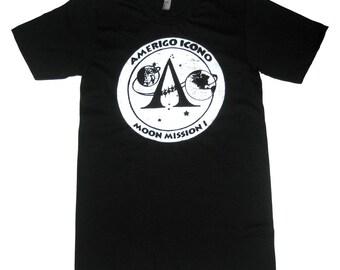 Sample Sale AMERIGO ICONO MOON Mission T shirt