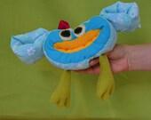 """Nom Nom tweet """""""" Plush bird Reserved for Annemieke"""