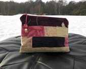 SALES - Patchwork - Zippered Pouch - Purse Bag - Cosmetic Bag - FREE UK delivery