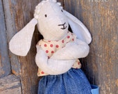 """Reservation for the nice customer :), Beo """"Today is a beatiful day..."""" - a sheep wool filled toy"""
