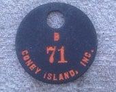 unique Coney Island tag