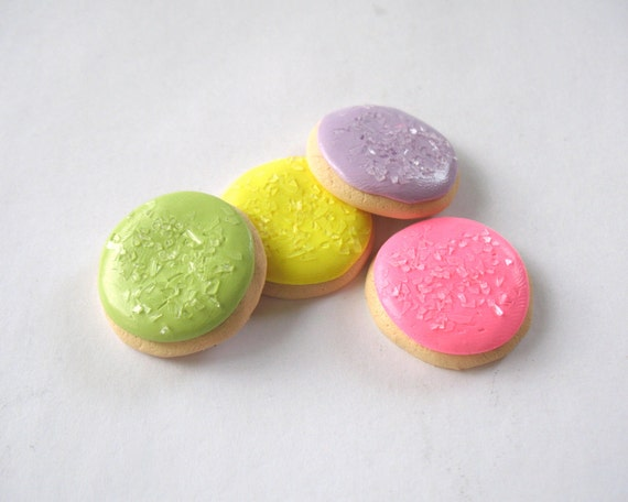"""Pastel Sugar Cookies with Crystal Sugar for your 18"""" doll and her American girl"""