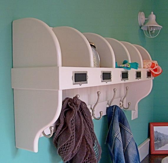cubby coat hook shelf. Black Bedroom Furniture Sets. Home Design Ideas