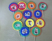 Toy Story New Cup cake toppers