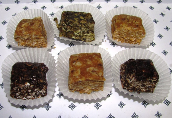 Nosh-A-Whey  All Natural Homemade Protein Bars  Almond Butter, 1 dozen
