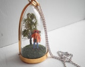 Get Back to Nature - Miniature Diorama Necklace