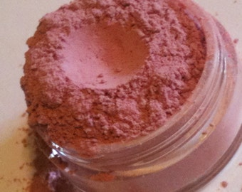Mineral Makeup Blush in Rose Dust with dried goat milk/free shipping
