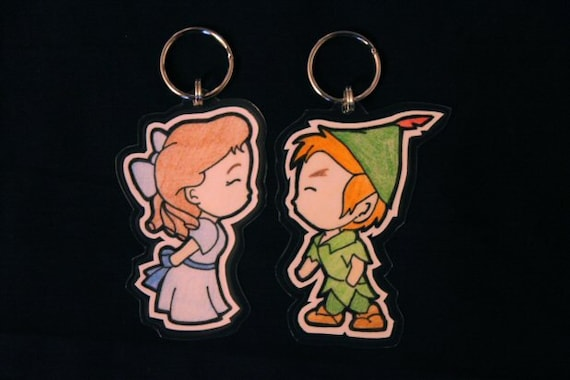 Wendy/Peter Pan His&Hers Keychains