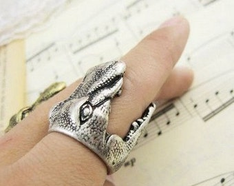 Crocodile Alligator Ring size 7