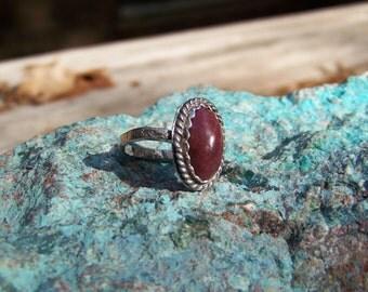 Carnelian  Agate Ring