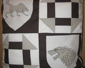 """Game of Thrones 18"""" Made-To-Order Sigil Throw Pillow"""