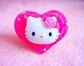 Hello Kitty Heart Ring