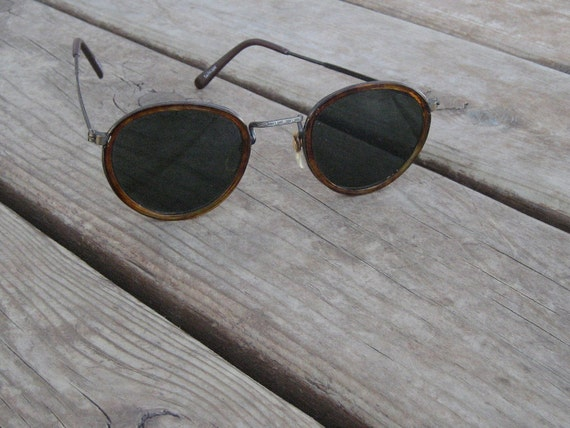 Vintage Solargenics sunglasses with tortoiseshell rims for the hippie in you.
