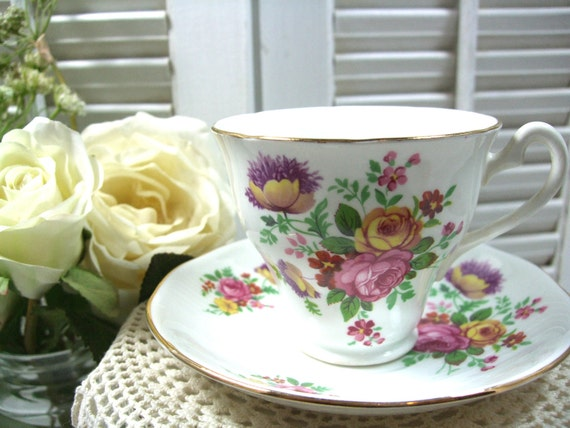 RESERVED FOR JANE Vintage Teacup by Royal York of England