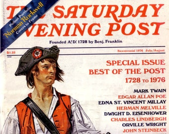 Saturday Evening Post 1976 July/August Bicentennial Best of the Post