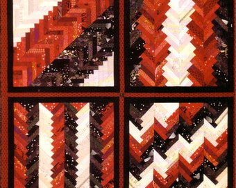 Braid & Chevron Updated Quilt Pattern Book