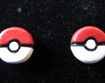Pokeball Stud Earrings