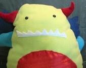 Plush dragon monster