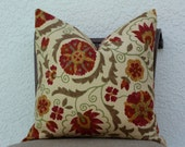 Home Decor Accent Pillow Cover 20 x 20 Multi colored Throw Pillow Decorative Pillow Cover