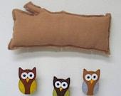 SALE -- Woodland Dreams : Owl Mobile Nursery Decor