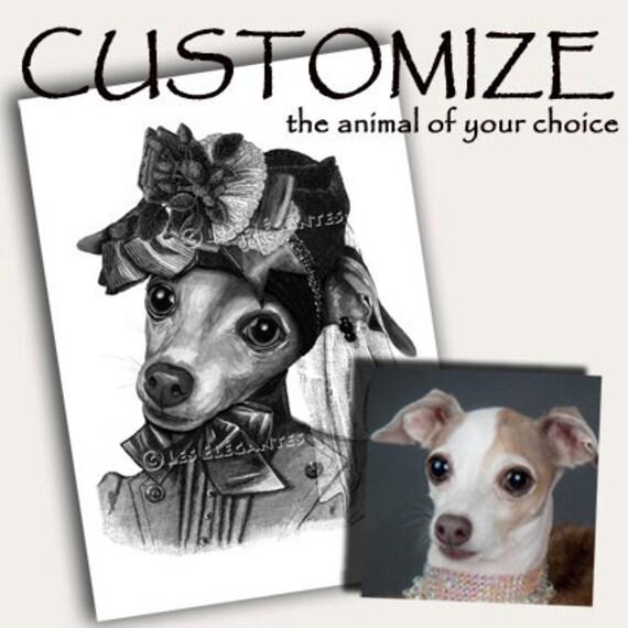 CUSTOM Original Portrait of your dog