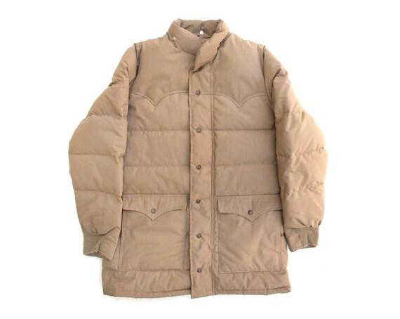 Vintage Schott Khaki Down Jacket sz M