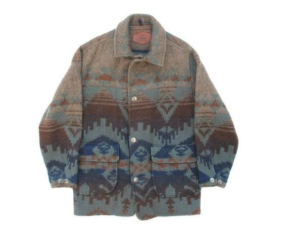 Vintage Woolrich Navajo Jacket Sz M