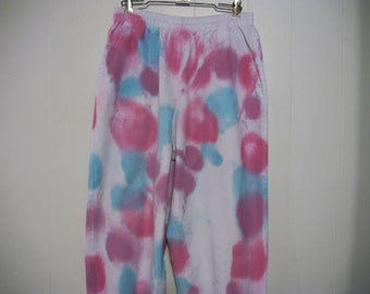 Hand-dyed cotton pants