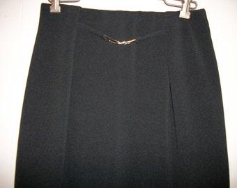 Vintage black skirt, size Medium Petite
