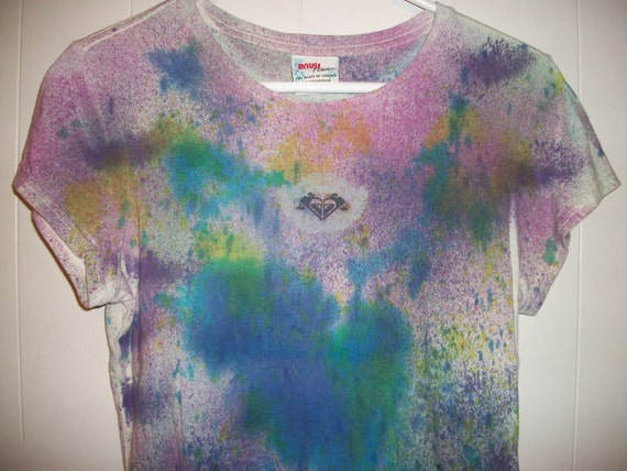Hand-dyed tee shirt, size M