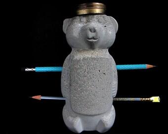 tender bear concrete studio/desk-mate