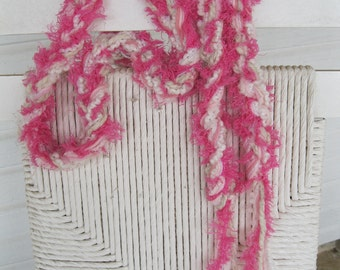Make Me Blush skinny scarf.