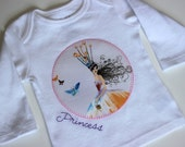 Newborn Princess Tee