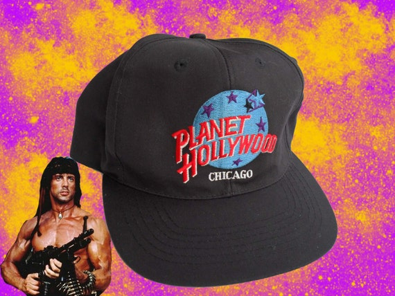 90s Planet Hollywood Snapback Hat