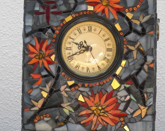 ON SALE!  Mosaic Clock