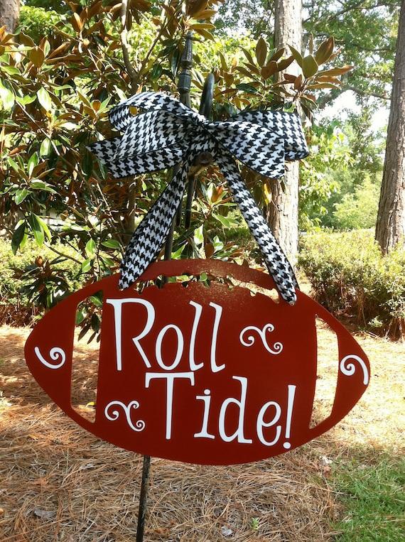 Alabama Roll Tide Football Wall Hanging