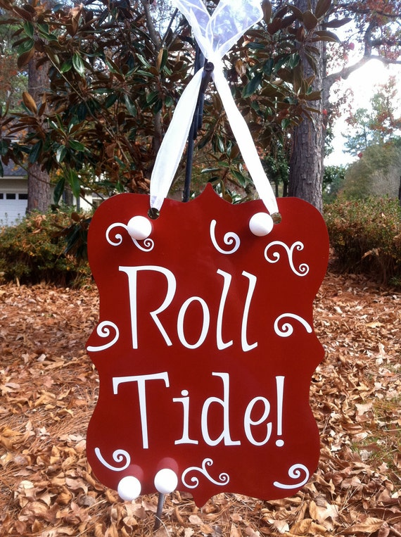 Alabama Roll Tide/Merry Christmas Two Sided Magnet Board--Can be Personalized