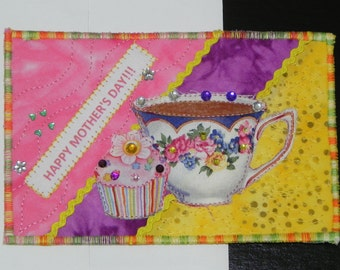 Mother's Day Tea & Cakes Card
