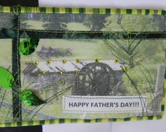 Father's Day Quilted Card