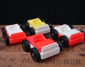 Vintage Fisher Price Toy Cars Lot of 4