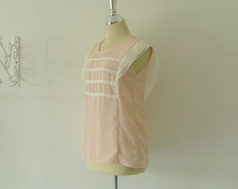 Wing on Sleeve - Cutie Top in Pink Color