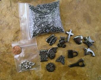Miscellaneous Hematite Beads, Pendants, Clasps