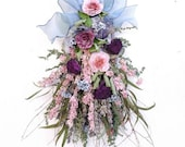 Dried Flower  Bouquet Arrangement with Dried Roses