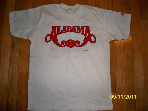 vintage alabama band 40 hour week concert tour