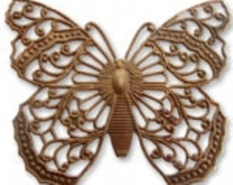 Vintaj Filigree Butterfly