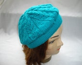 Deep Turquoise Beret