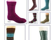 Sock It To Me Again (Volumes 1 and 2 Combined) Pattern Book from Skacel