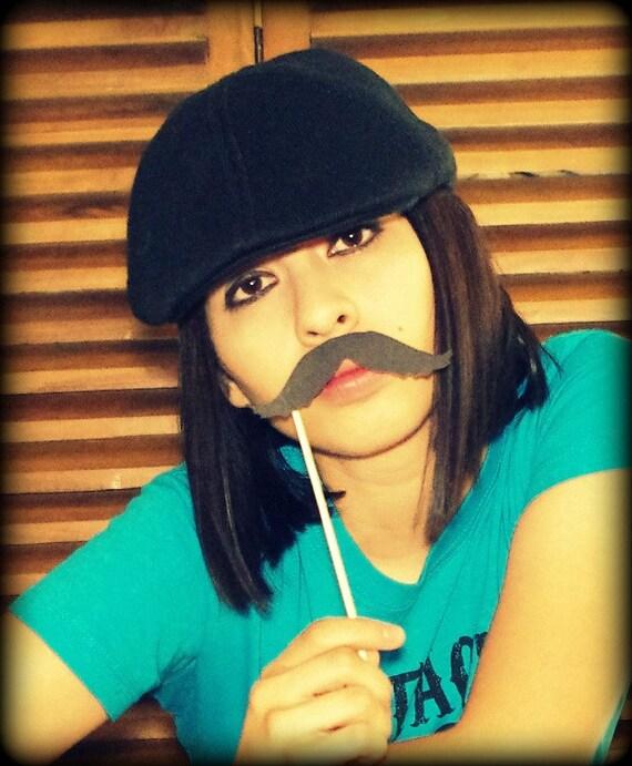 Mustache on a Stick - The Detective-Little Man Party-Mustache on a stick-Photo Props-Photo Booth-Mustache Party-mustache Theme-Props