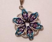 Tricolor Celtic Visions Necklace