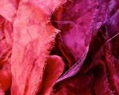 Silk Sari Ribbon 2 colours pink fuchsia selection